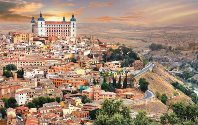 Toledo Panoramic tour