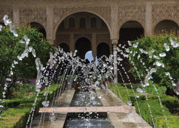 Alhambra Garden Spain