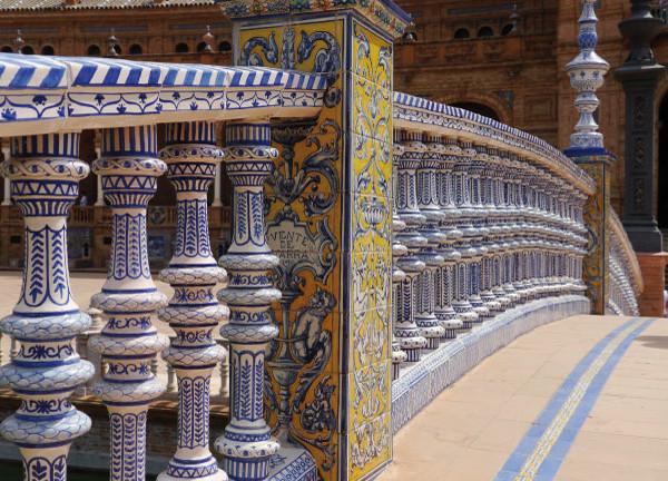 Architecture in Seville, Spanish Square