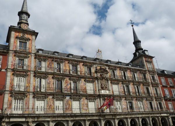 Main Square in Madrid