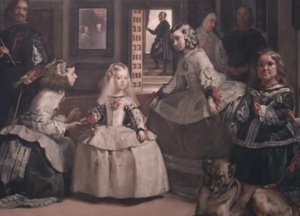 Prado Museum Painting -Velasquez´s¨Las Meninas¨
