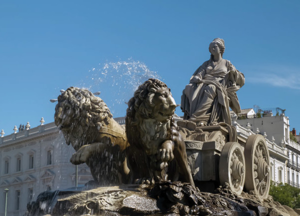 The Cibeles Fountain in Madrid